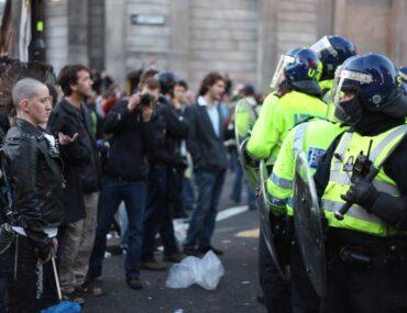 Rellen politie
